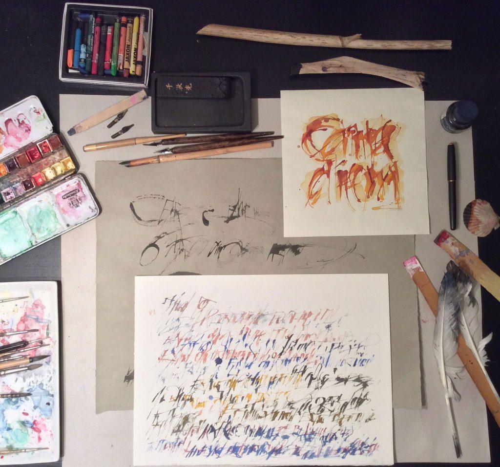 Kalligrafie - Kurse mit Sabine Kalicki